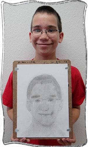 11 éves fiú rajza