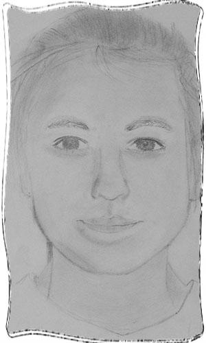 13 éves lány rajza