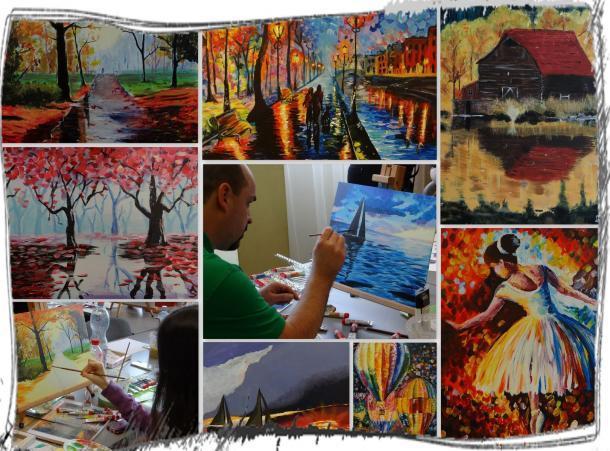 Varázs-ceruza Rajziskola Akril festőtanfolyam