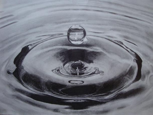 Vízcsepp rajzolás