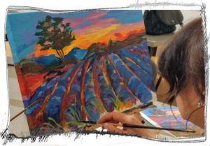 Akril festőtanfolyam