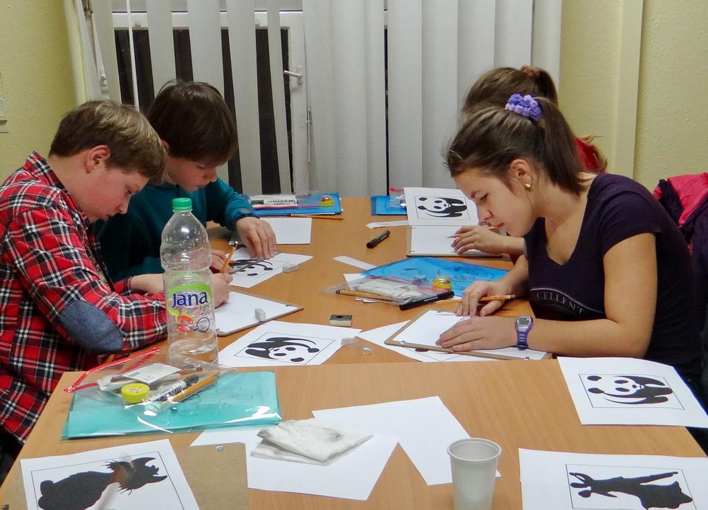 Gyermek rajztanfolyam - játékos feladatok