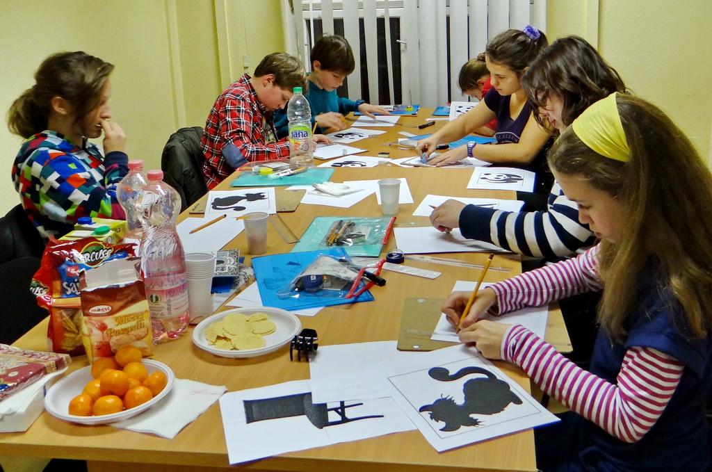 Jobb agyféltekés gyermek rajztanfolyam - Varázs-ceruza