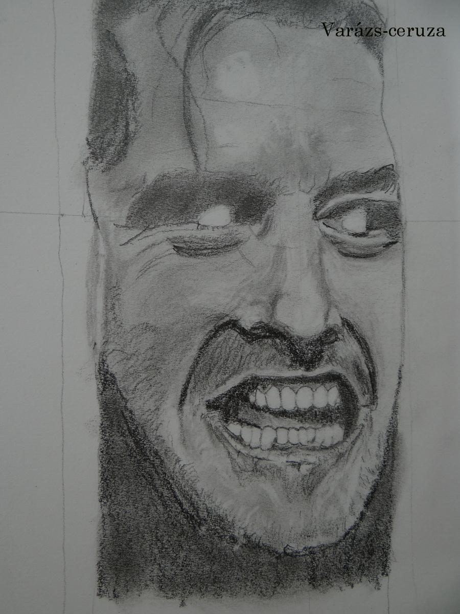 Jack Nicholson-grafit rajz