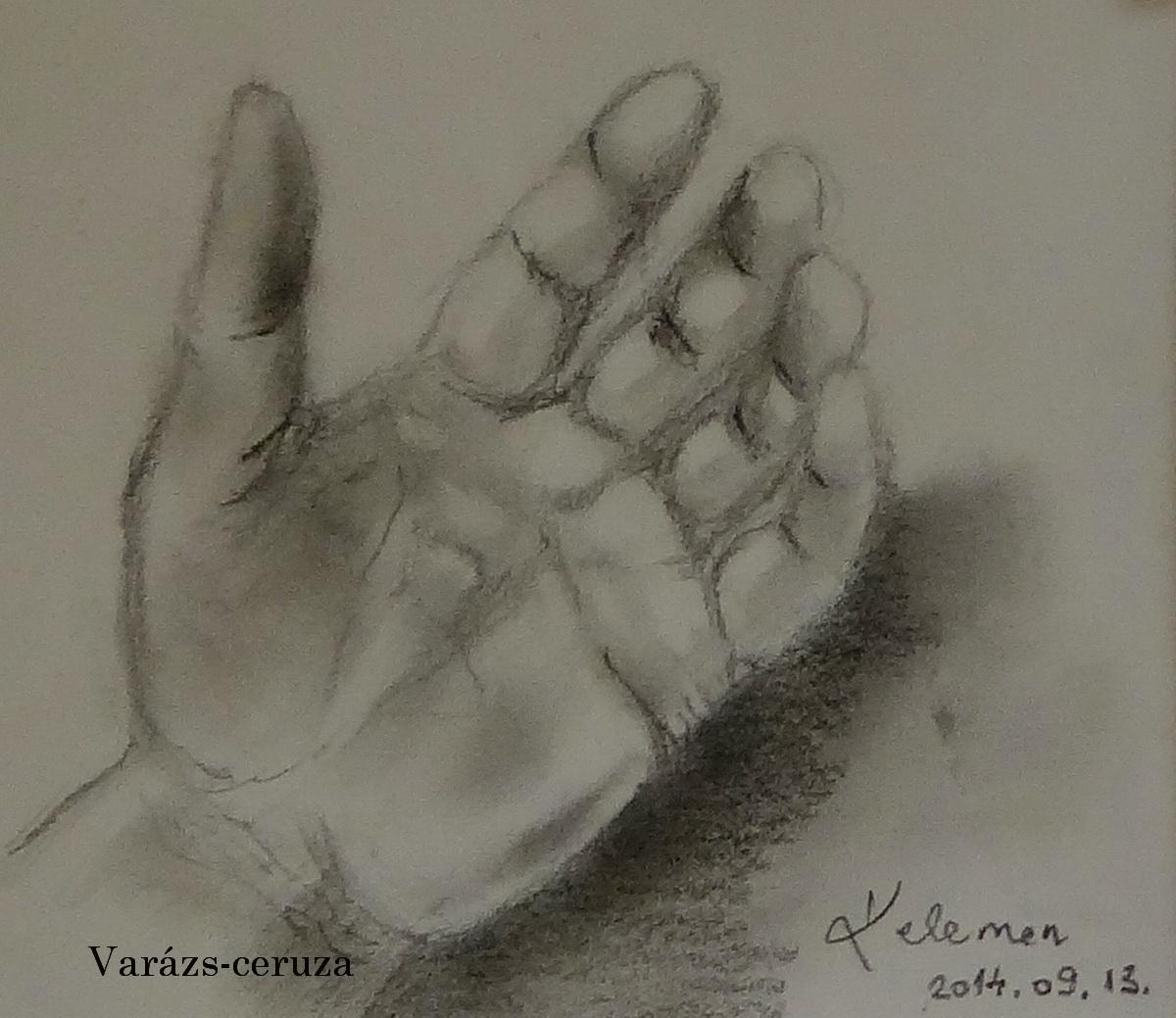 Kéz rajz
