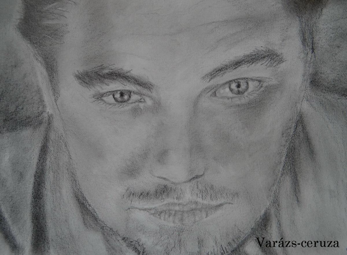 Leonardo Dicaprio-grafit rajz